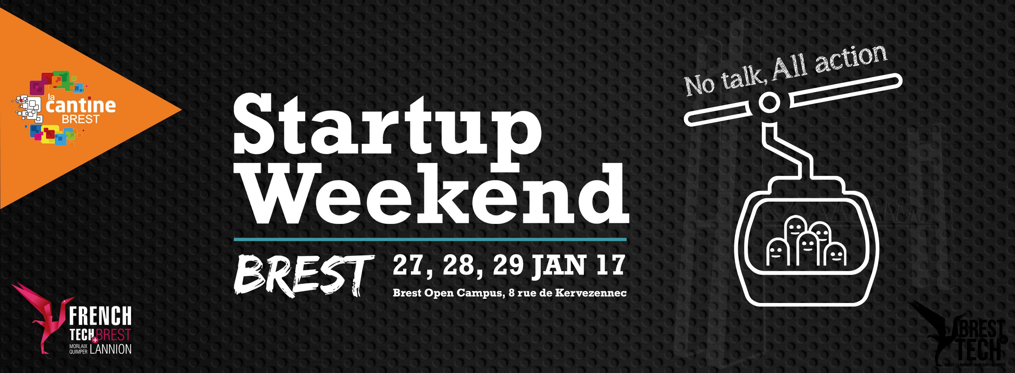 Startup Weekend #4 : la billetterie est ouverte! @ Brest Open Campus   Brest   Bretagne   France
