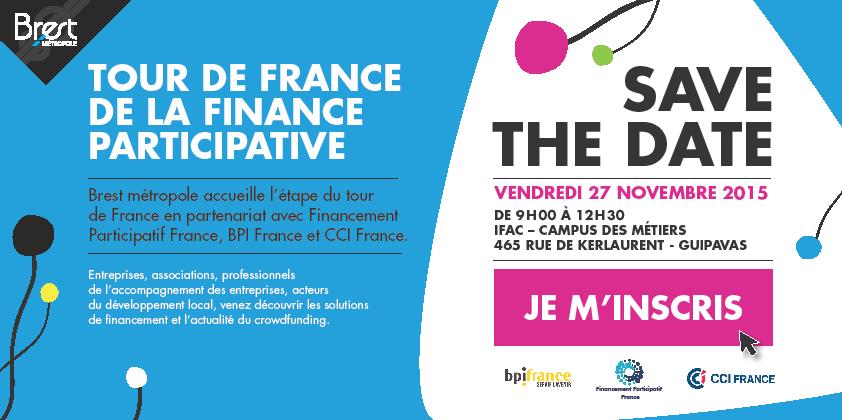 Tour de France de la Finance Participative @ IFAC – Campus des métiers | Guipavas | Bretagne | France