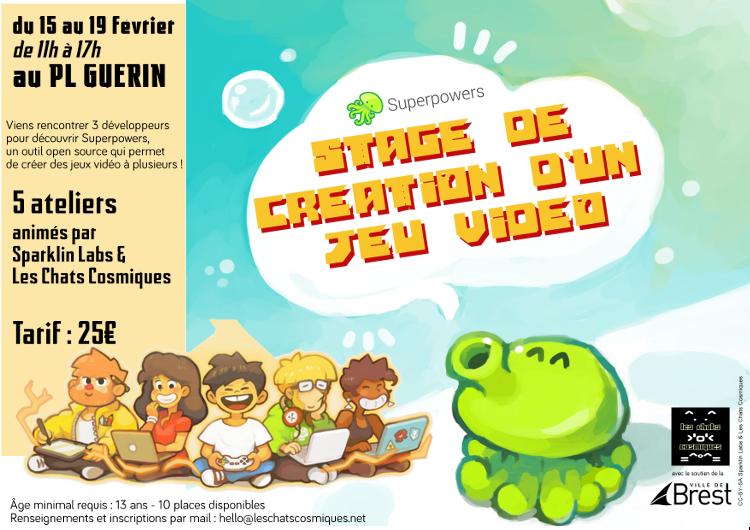 Table-ronde-démo autour de Superpowers @ La Cantine numérique Brest | Brest | Bretagne | France