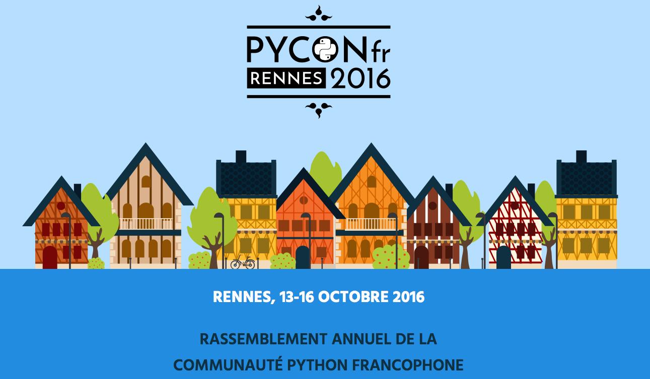 PyCon-fr, rassemblement de la communauté Python