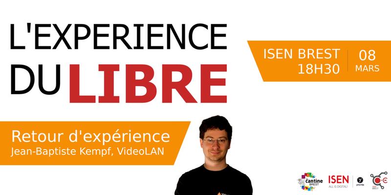 Conférence: L'expérience du libre @ ISEN Brest | Brest | Bretagne | France