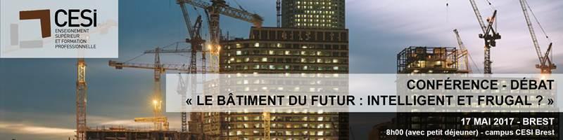 Conférence Bâtiment du Futur @ Campus CESI Brest | Brest | Bretagne | France