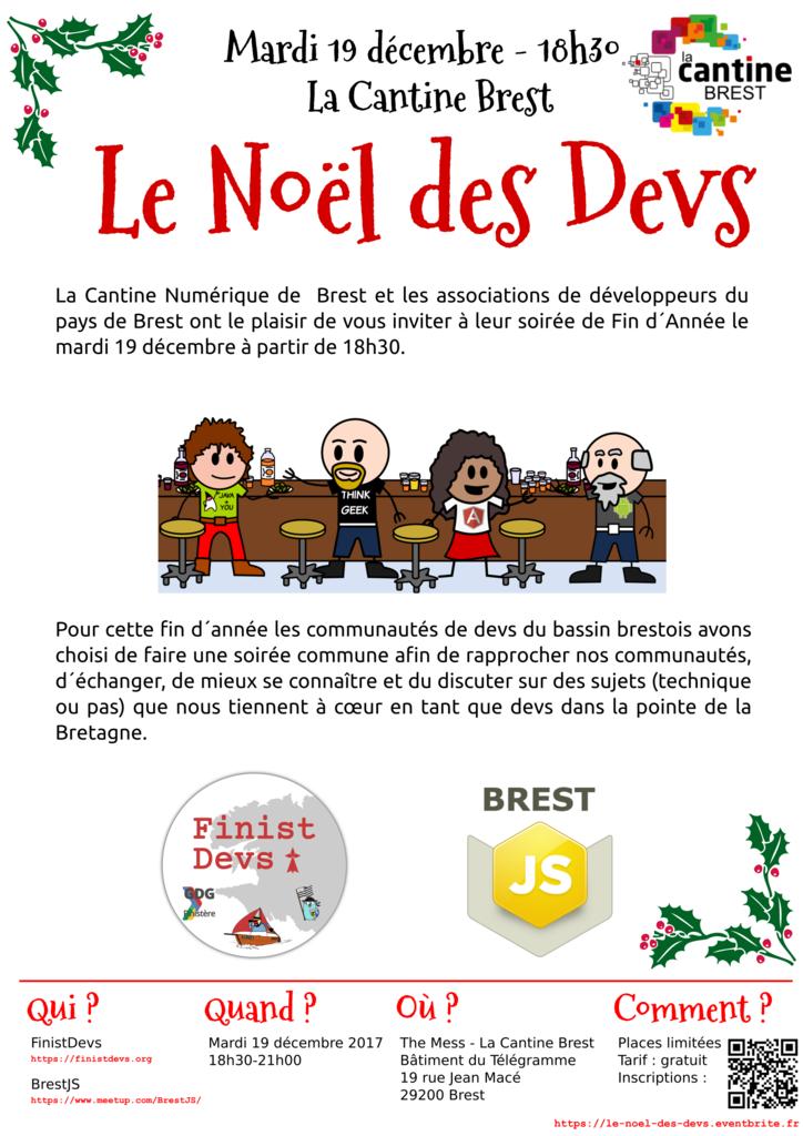 Le Noël des Devs @ The Mess (annexe Cantine) | Brest | Bretagne | France
