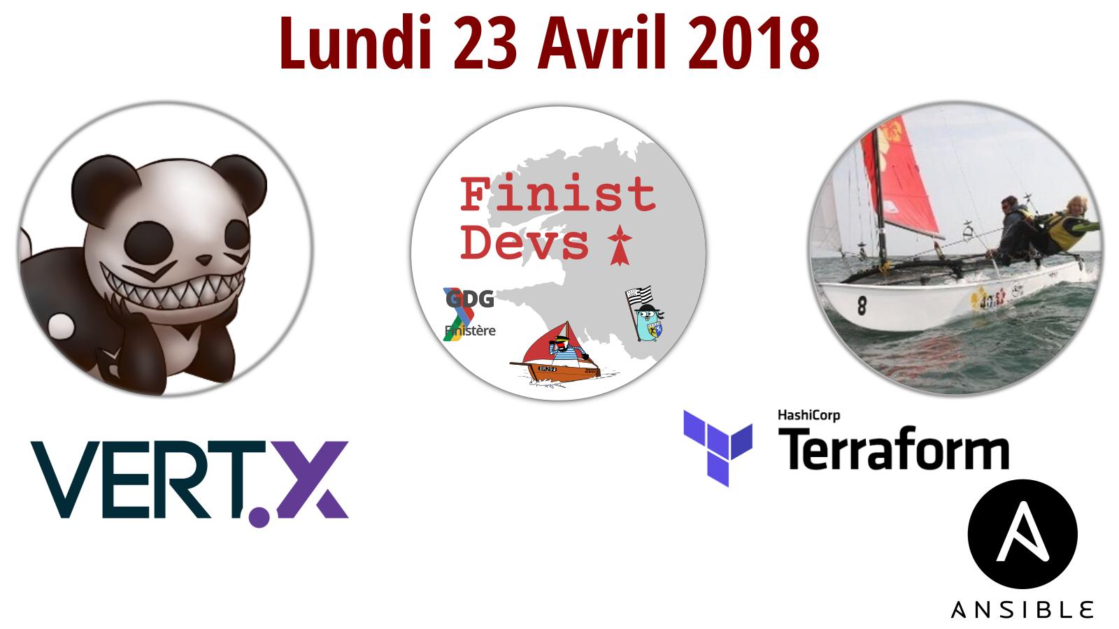 FinistDevs: Vert.x et micro-services & Terraform et Ansible pour déploiement dans le cloud @ La Cantine numérique Brest | Brest | Bretagne | France
