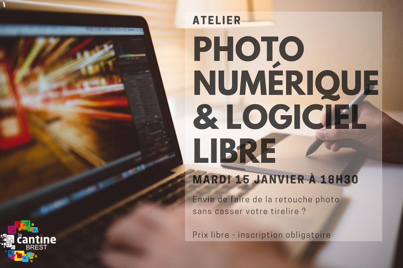 Atelier photographie numérique et logiciel libre @ The Mess / La Cantine numérique Brest | Brest | Bretagne | France