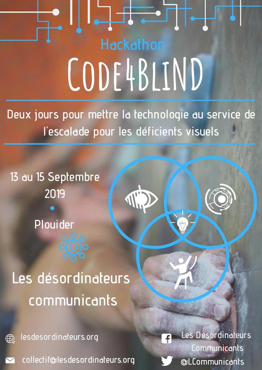 Hackathon Code4Blind @ Une villa à Plouider