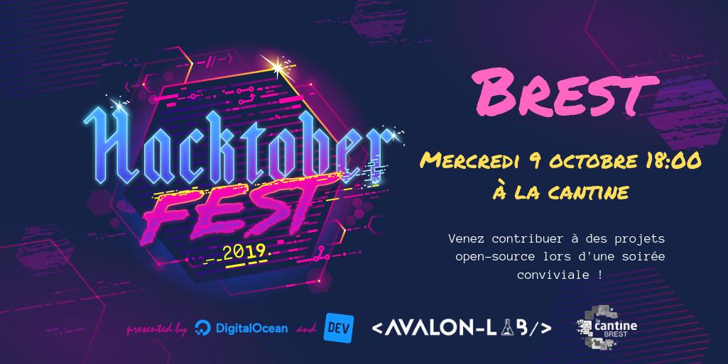 Hacktoberfest in Brest @ La Cantine numérique Brest